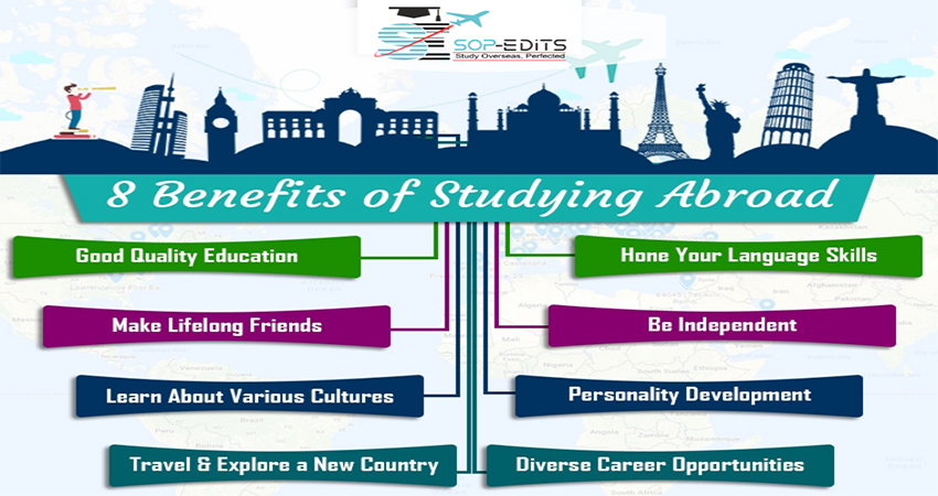 The Advantages of Studying Overseas